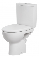 Toilet Cersanit Parva 3/6   with hard cover Lavatory closets