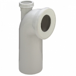 Klozeto pajungimo alkūnė su papildoma jungtimi VIEGA, d 100-50, 90* Other items of equipment in the bathroom