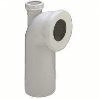 Klozeto pajungimo alkūnė su papildoma jungtimi VIEGA, d 100-50, 90* Citu vannasistabas aprīkojuma elementu