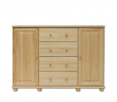 Commode KD120 Wooden chests of drawers
