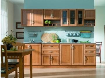 Virtuvinis komplektas Wanilia (2,60 m) Virtuvės baldų komplektai