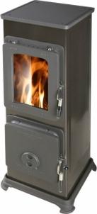 Oven Thorma BOZEN | juodas emalis Fireplace, sauna stoves