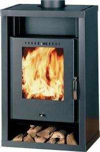 Oven Thorma GENT | juodas Fireplace, sauna stoves