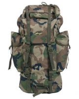 Kuprinė 65L BW woodland Tactical backpacks