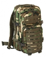 Kuprinė US ASSAULT PACK SM 20L, woodland Tactical backpacks