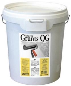 Kvarcinis gruntas su baltu pigmentu QG 15 kg Statybiniai gruntai