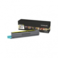 LEXMARK C925 YELLOW HY TONER CARTR. 7.5K