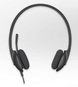 LOGITECH USB HEADSET H340 Ausinės ir mikrofonai