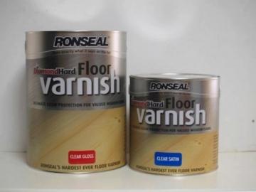 Lakas pusiau matinis Diamond Hard Floor Varnish 2,5ltr tamsus ąžuolas