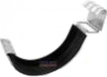 Latako jungtis su tarpine apvali 125 mm (cinkuota)