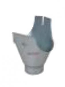 Latako nuolaja (santaka) 100 mm apvali 125/100 (cinkuota)