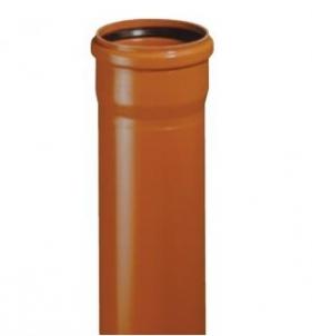 Lauko kanalizacijos vamzdis su mova Magnaplast KGEM SN4, 160-4.0-1000 Kanalizācijas caurules