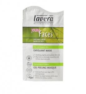 Lavera Cleansing Scrub Mask Mint Cosmetic 10ml Kūno šveitikliai