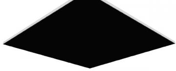 Lubos Gyprex SATINSPAR 1200x600x8, juoda Suspended ceilings