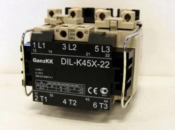 Magnet.paleid.DIL-K 45X-22 230V Magnetic launchers,, minikontaktors