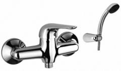 Maišytuvas dušo S-LINE + dušo komplektas. Shower faucets