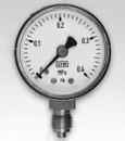 Manometras M100 0-10 bar. Technical pressure gauge
