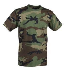 Marškinėliai Helikon woodland Tactical shirts, vests