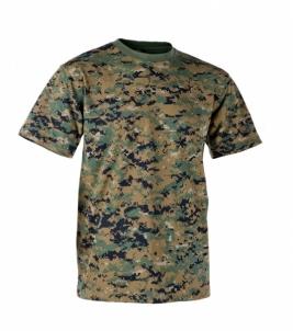 Marškinėliai USMC digital woodland Helikon marpat Tactical shirts, vests