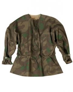 Marškiniai Schlupfhemd Splinter Wehrmacht repro Antikvaras, reprodukcijos