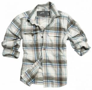 Marškiniai Surplus WOODCUTTER BRAUN