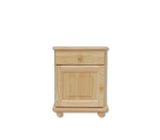 Naktinė spintelė SN101 Solid wood cabinets of night