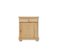 Naktinė spintelė SN103 Solid wood cabinets of night