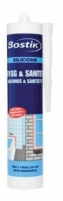Neutral sanitary silicone Bygg Sanitet white 300ml Silicone sealants