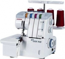Overlock JANOME Mylock 744D Sewing machines