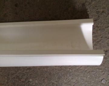 PLASTMO Latakas (Nr.10) 102 mm (baltas), 3 m