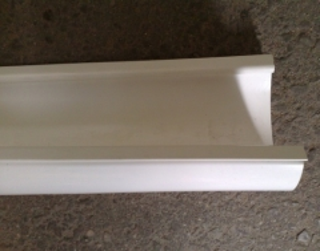 PLASTMO Latakas (Nr.10) 102 mm (baltas) Gutters