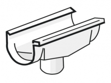 PLASTMO Latako nuolaja kompensacinė (Nr.10/75mm) 100 mm (juoda)