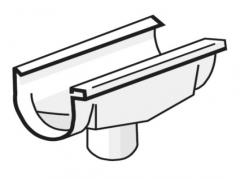 PLASTMO Latako nuolaja kompensacinė (Nr.11/90mm) 120 mm (pilka)