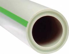 PPR lituojamas vamzdis FASER, d 40x6.7mm, PN20 Instalplast caurules