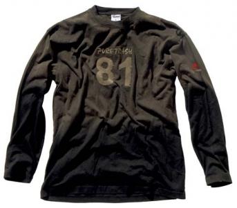 Palaidinė vyriška ilgarankovė- 81- Pure Trash vintage Kariški, medžiokliniai džemperiai ir megztiniai