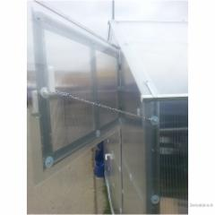 Stoglangis / orlaidė papildomas 48x69 cm šiltnamiui HOUSE su automatiniu atidarytuvu