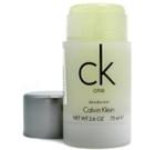 Pieštukinis dezodorantas Calvin Klein One Deostick 75ml Dezodorantai/ antiperspirantai