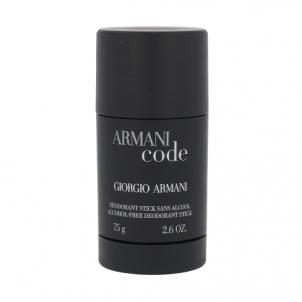 Pieštukinis dezodorantas Giorgio Armani Black Code Deostick 75ml Dezodorantai/ antiperspirantai