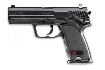 Pistoletas AEG GNB, H&K USP CO2 Pistoles