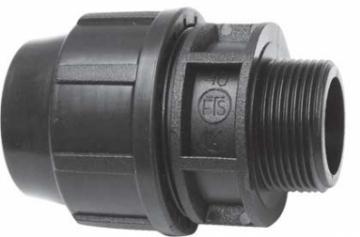 Plastikinis lauko vandentiekio perėjimas, d 1''-40, išorė Outdoor plumbing transitions