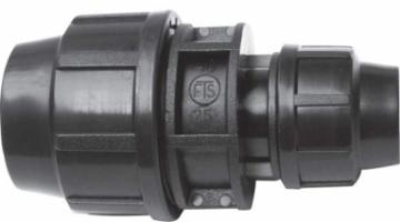Plastikinis lauko vandentiekio perėjimas, redukuotas, d 25-20 Outdoor plumbing transitions