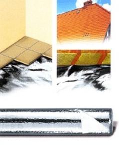 Plėvelė garo įzol. Strotex AL 90[ su fol] Tvaika izolācijas plēve