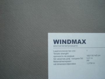 Plėvelė vėjo izoliacinė WINDMAX Priešvėjinė plėvelė