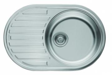 Plieninė plautuvė FRANKE PAMIRA PMN 611 (i). Nerudyjančio tērauda virtuves izlietnes