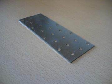 Plokštelė 40x100x2.0 Montage plate, galvanized