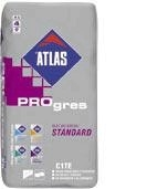 Adhesives for tiles ATLAS PROgres STANDARD 25kg Adhesives for tiles