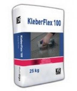Plytelių klijai MultiGips Kleberflex 100 elastingi 25kg Flīžu līme