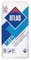 Adhesives for tiles fast drying ATLAS MIG 25kg Adhesives for tiles