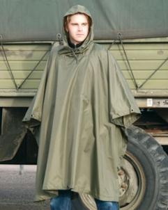 Pončas - palerina vokiškas chaki spalvos rip-stop Mil-Tec Speciālie apģērbi