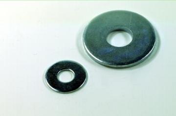 Poveržlė DIN 9021 d -5 cin. Washers din 9021, galvanized (broad)